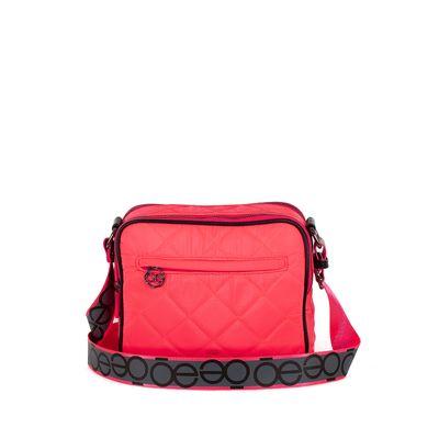 Bolsa Crossbody Grande Color Rosa
