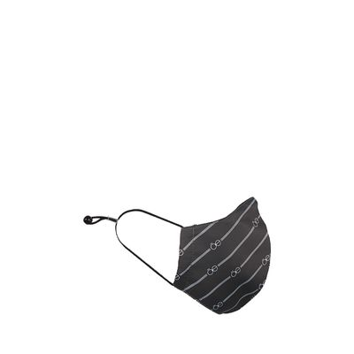 Cubrebocas con Textil Inteligente Color Negro