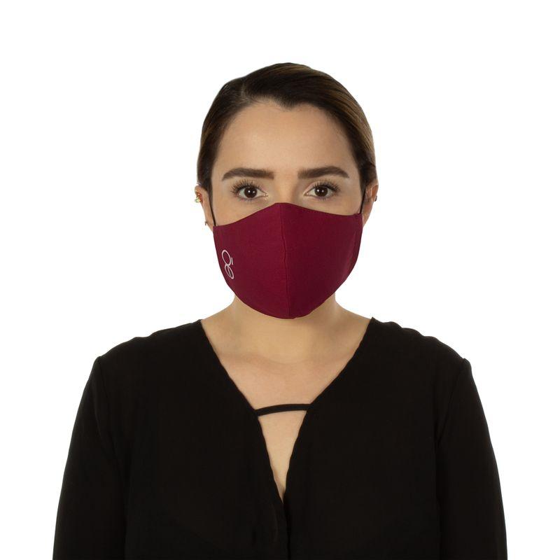 Cubrebocas-con-4-Capas-de-Proteccion-Ajustable-Color-Rojo-Tinto-en-Color-Tinto-|-Cloe