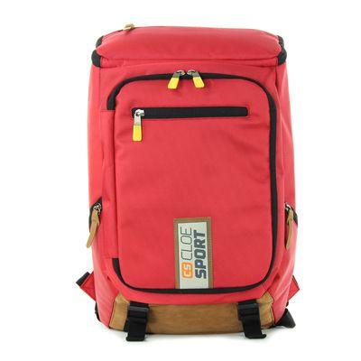 "Backpack Rojo Cloe Sport Porta Laptop 14"""