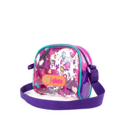 Bolsa Crossbody  Chica De Mica Multicolor