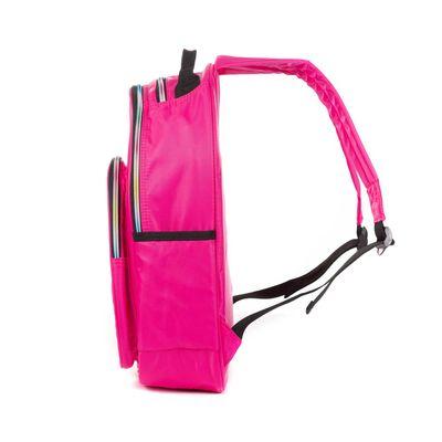 Mochila Porta Laptop 14 Pulgadas Cloe Girls Rosa Con Estrellas