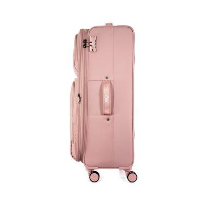 "Maleta Expandible Grande 28"" Color Rosa"