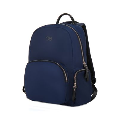 Mochila Grande Apilable En Equipaje Color Azul Marino