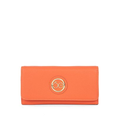 Cartera Clásica Flap Color Naranja