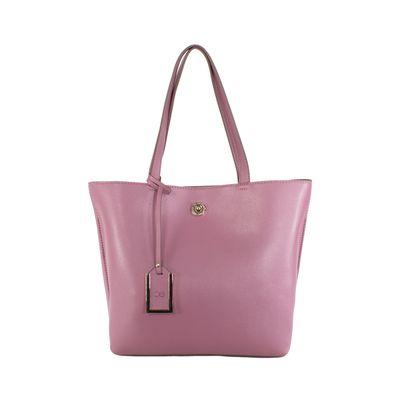 Bolsa Tote  Clásica Color Rosa
