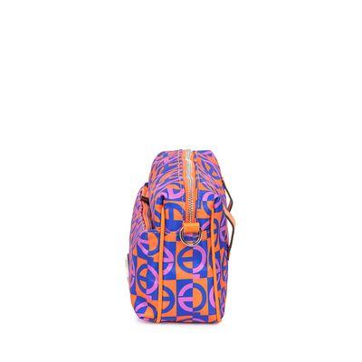 Bolsa Crossbody 2-en-1 Nylon Estampado Multicolor