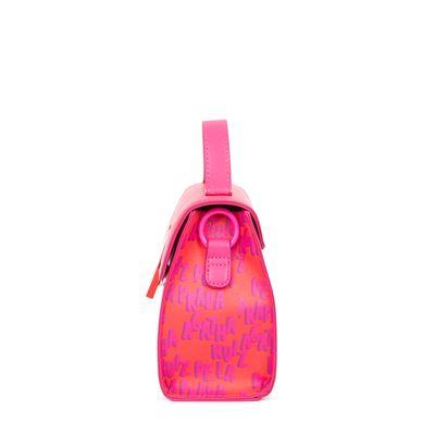 Bolsa Briefcase Cloe By Agatha Ruiz De La Prada Estampado Color Magenta
