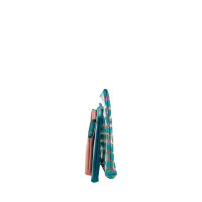 Cosmetiquera Cloe By Agatha Ruiz De La Prada 3 En 1 Color Azul Turquesa