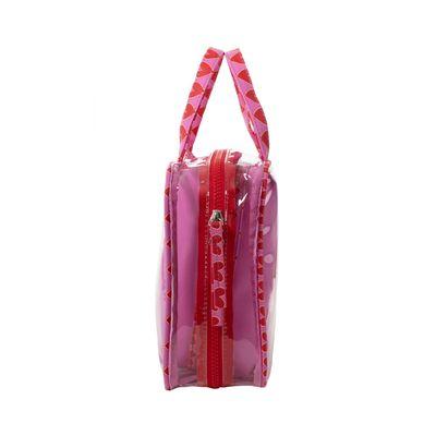 Cosmetiquera Cloe By Agatha Ruiz De La Prada 3 En 1 Color Rosa