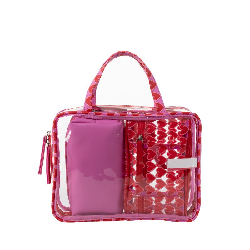Cosmetiquera-Cloe-By-Agatha-Ruiz-de-la-Prada-3-en-1-Color-Rosa-en-Color-Rosa-|-Cloe