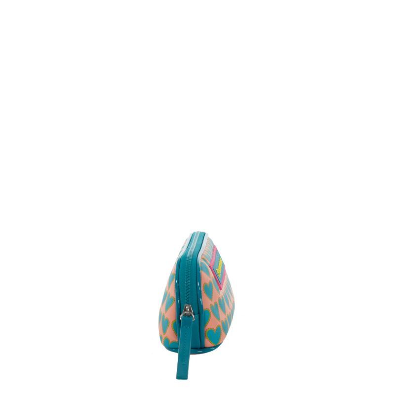 Cosmetiquera-Cloe-by-Agatha-Ruiz-de-la-Prada-Estampado-Corazones-Color-Azul-Turquesa-en-Color-Turquesa-|-Cloe