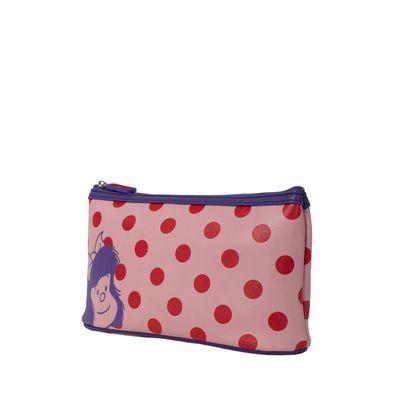 Cosmetiquera Lunares Mafalda X Oe Color Rosa