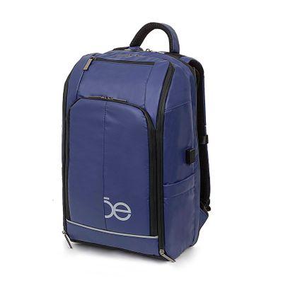Mochila Porta Laptop Material Impermeable Color Azul Eléctrico