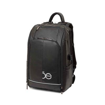 Mochila Porta Laptop Material Impermeable Color Negro