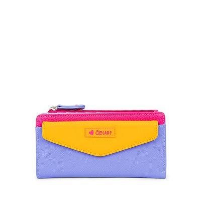 Cartera Flap Cloe By Agatha Ruiz De La Prada Bloques Multicolor Lila