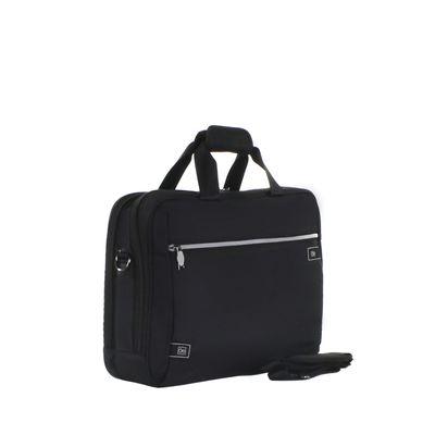 """Porta Laptop Textil de 15"""" en Color Negro"""