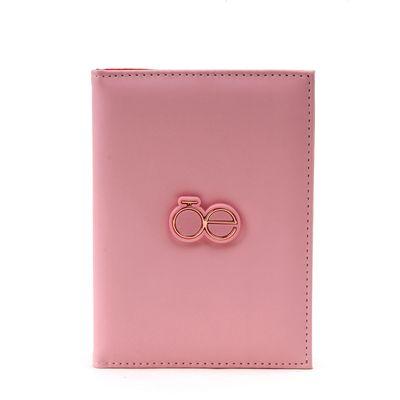 Porta Pasaporte Color Rosa
