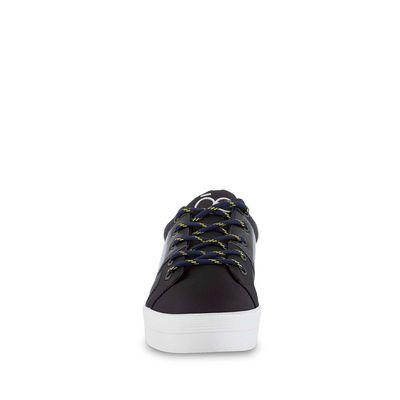 Tenis de Plataforma material Neopreno en Color Negro