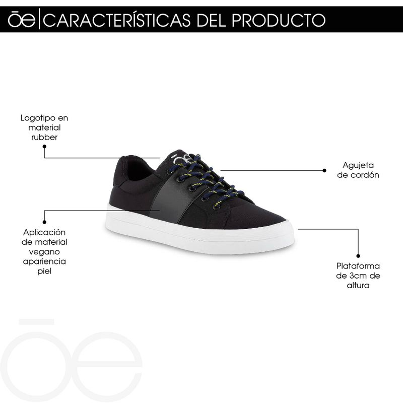 Sneakers-Cloe-con-Raya-Negros-en-Color-Negro-|-Cloe