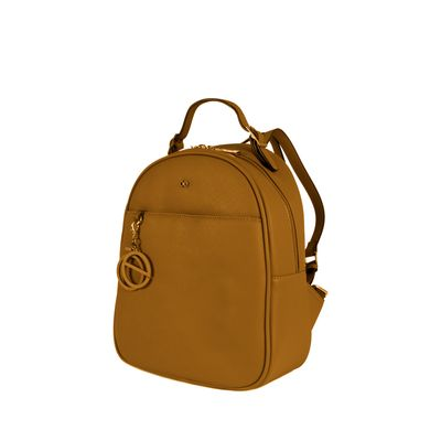Mochila  Mediana Color Ocre