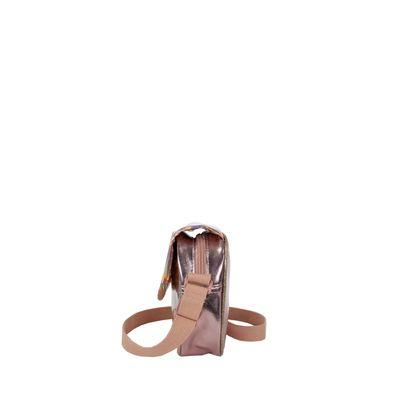 Bolsa Crossbody Metálica Color Copper