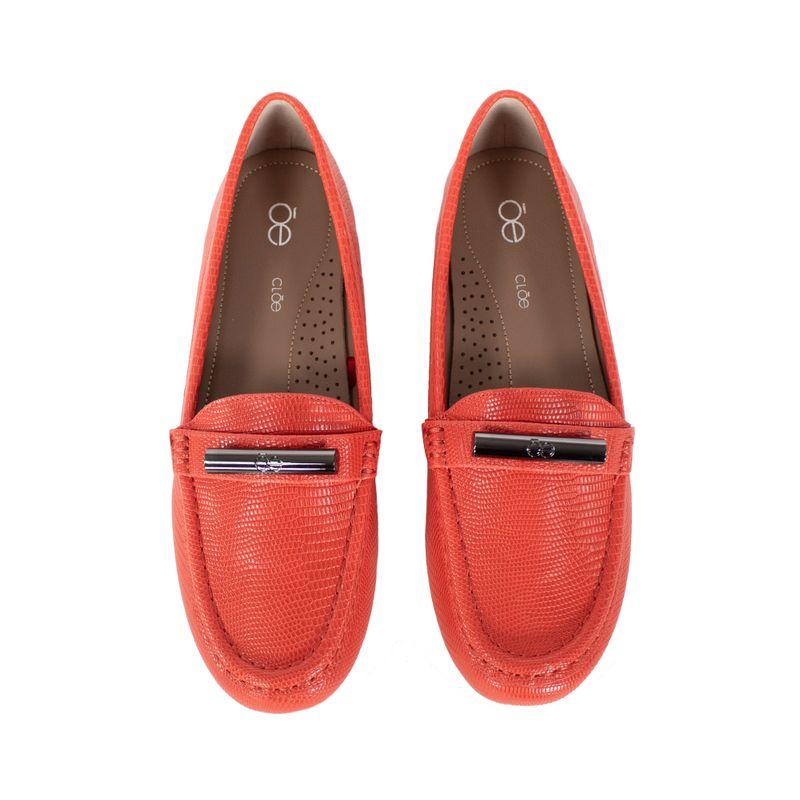 Mocasin-Textura-Animal-Skin-Color-Naranja-en-Color-Naranja- -Cloe