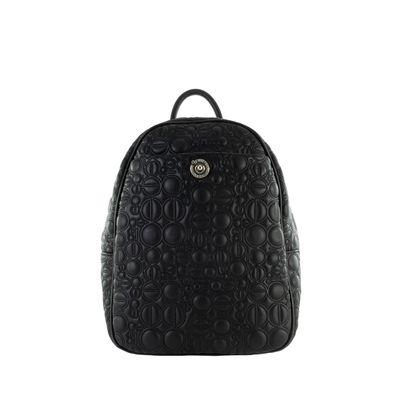 Mochila con Abullonado Icónico color Negro