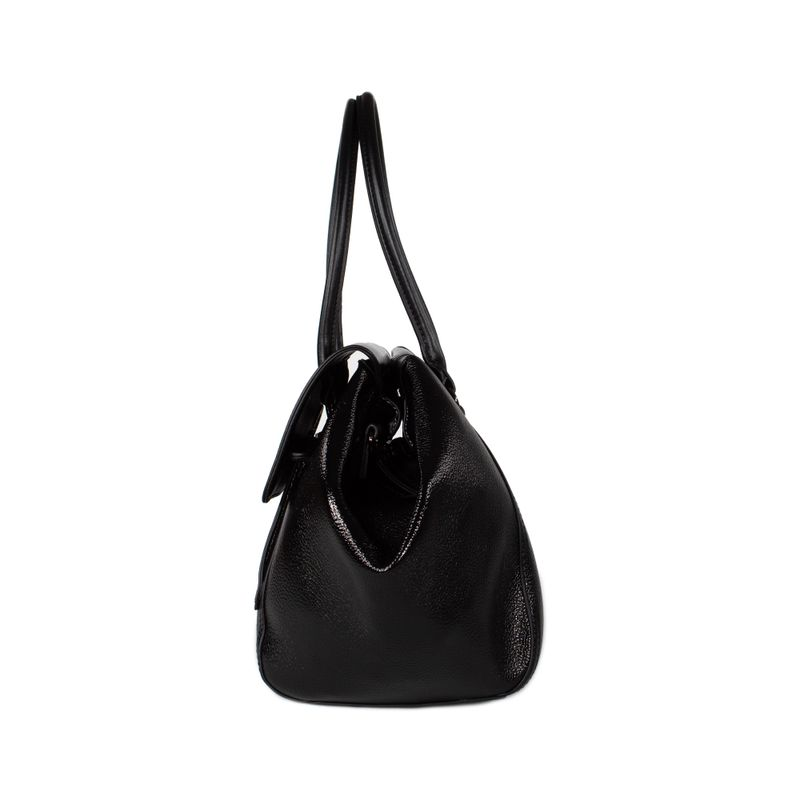 Bolsa-Satchel-Cloe-Metalica-color-Negro-en-Color-Negro- -Cloe