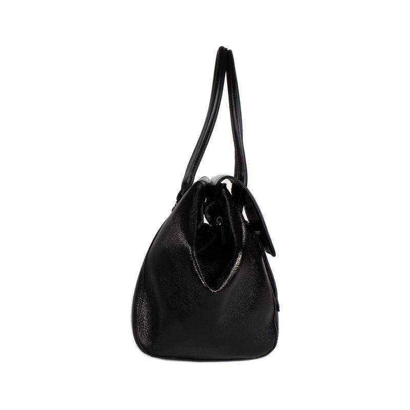 Bolsa-Satchel-Cloe-Metalica-color-Negro-en-Color-Negro-|-Cloe