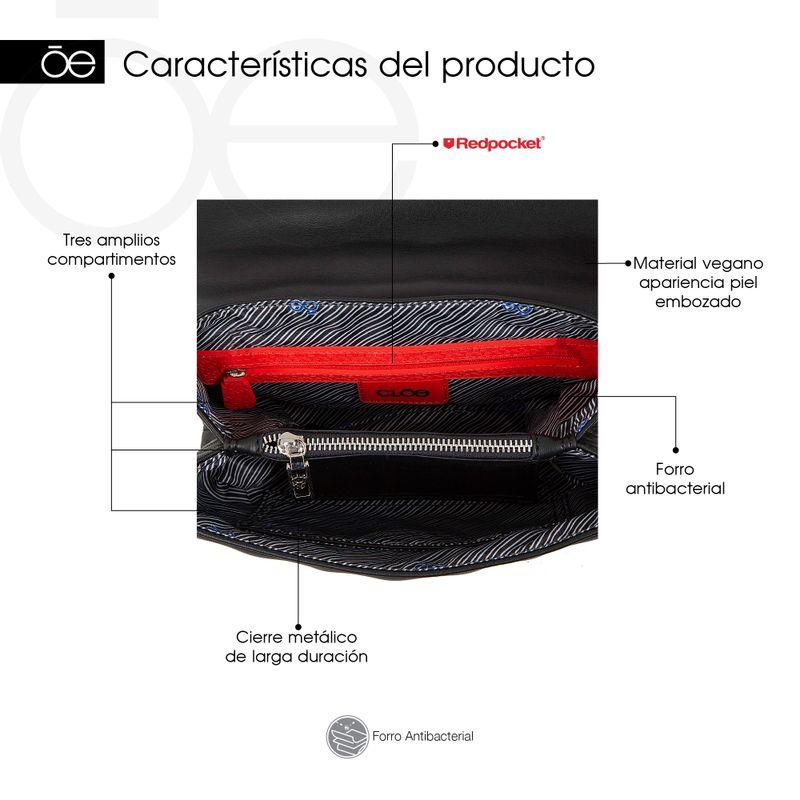Bolsa-Briefcase-Cloe-Troquelada-con-Asa-Cadena-color-Negro-en-Color-Negro-|-Cloe