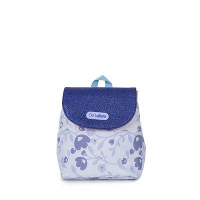 Mochila Estampado Floral Color Azul
