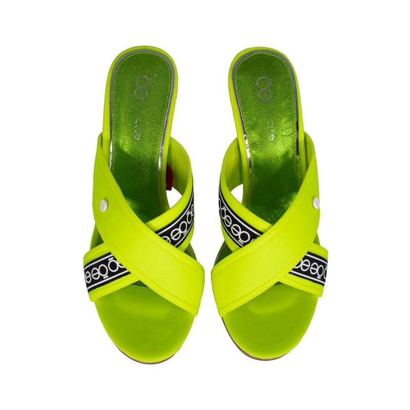 Sandalia-Cloe-Textil-con-Tacon-Acrilico-color-Amarillo-Limon-en-Color-Limon-|-Cloe