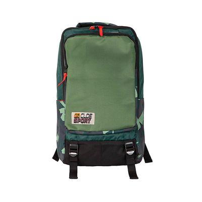 """Mochila Porta Laptop 15"""" Detalle estampado color Verde"""