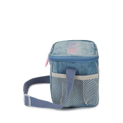 Lonchera Térmica Escolar con Glitter color Azul