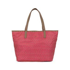 Bolsa Tote Ultra Ligera con Monograma color Rojo