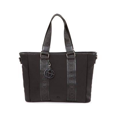 "Bolsa Tote Porta Laptop 15"" color Negro"