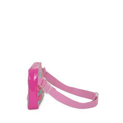Cangurera para Niña Estampado Flamingos color Rosa