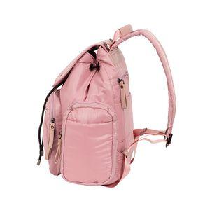 Pañalera Mochila Textil color Rosa