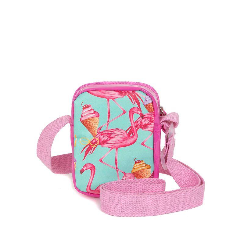 Bolsa-Crossbody-para-Niña-Estampado-Flamingos-color-Rosa-en-Color-Rosa-|-Cloe