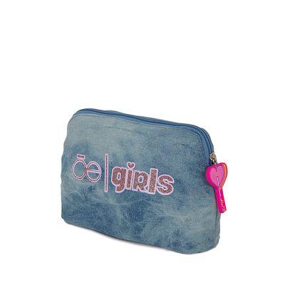 Lapicero Escolar con Glitter color Azul