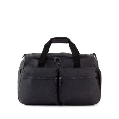 Bolsa Duffle Bag Apilable con Cosmetiquera Removible color Gris