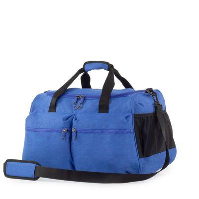 Bolsa Duffle Bag Apilable con Cosmetiquera Removible color Azul Marino