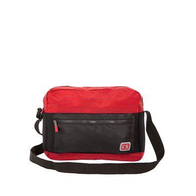 "Mensajera Porta Laptop (16"") Textil color Rojo"