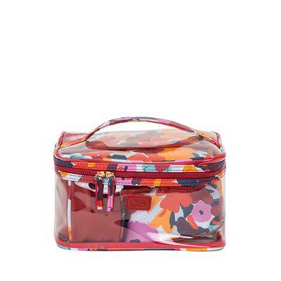Set de Cosmetiqueras 4-en-1 Estampado Floral Multicolor