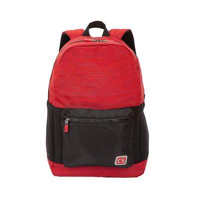 "Mochila Porta Laptop (16"") Textil color Rojo"