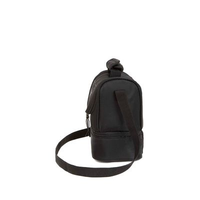 Lonchera Térmica de Nylon color Negro