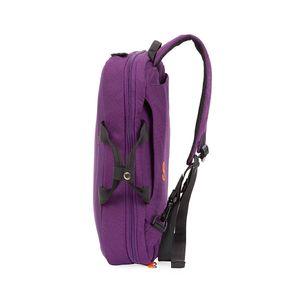 """Mochila Porta Laptop (15"""") 2-en-1 color Morado"""