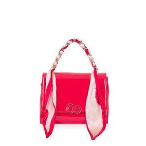 Bolsa Briefcase Charol CIMA x Oe color Magenta