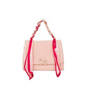 Bolsa Briefcase Charol CIMA x Oe color Nude